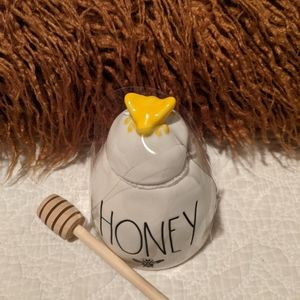 Rae Dunn honey pot